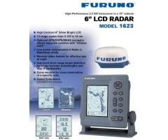 "Radar Furuno 1623 LCD 6"" 16NM"